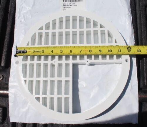 "New 12"" Floor Drain for Sink, Tub, Tank; 3/4 Design, Plastic, PVC P/N  PVC-4712B"