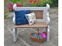 Monks bench - reclaimed old Church Pew
