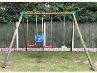 Little tikes swing set