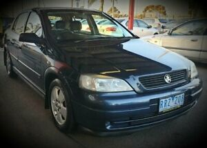 2002 Holden Astra TS CD Blue 4 Speed Automatic Hatchback Cheltenham Kingston Area Preview