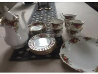 Royal Albert Old Country Roses 20 piece Coffee Set
