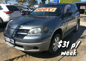 2003 Mitsubishi Outlander ZE LS Grey 4 Speed Sports Automatic Wagon Cranbourne Casey Area Preview