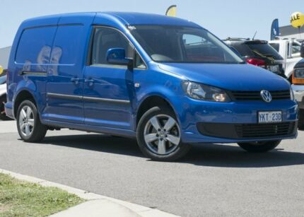 2015 Volkswagen Caddy 2KN MY15 TDI250 BlueMOTION Maxi DSG Blue 7 Speed Sports Automatic Dual Clutch Pearce Woden Valley Preview
