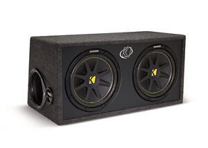 BRAND NEW 2 KICKER SUBS IN BOX WITH AMP / FREE WIRING KIT