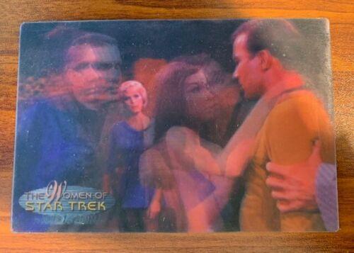 2000 Rittenhouse Women of Star Trek in Motion #1 Andrea Free Shipping