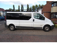 Renault Trafic LWB Van, Low Mileage, Good Condition Camper/Mini Bus Convesrion Ready