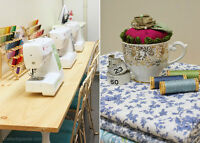 Sewing and Craft Classes - NEW Studio Location!