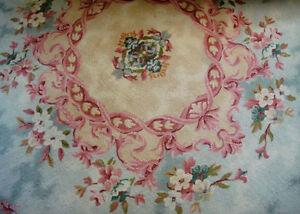 Vintage Persian All Wool Carpet Rug Room Size