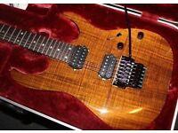 Ibanez RG 652K-KB Prestige (ltd edition; 2015) for sale with matching hard case