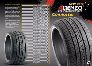 2018 ALTENZO Tires Special 19 inch 235/35 R19 20 inch