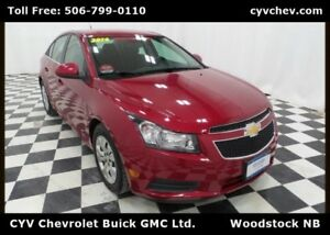 2014 Chevrolet Cruze 1LT Automatic - 0% Financing