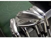 Callaway X Series forged irons/Titleist sm5 wedge