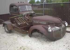 Wanted old chev project truck