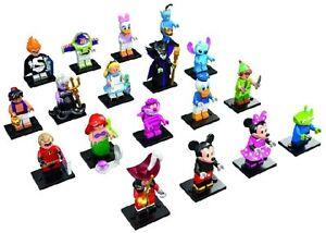 LEGO MINIFIGURINE  WALT DISNEY SERIE 16 COMPLÈTE   18 FIGURINES