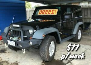 2011 Jeep Wrangler JK MY2011 Sport Black 6 Speed Manual Softtop Cranbourne Casey Area Preview