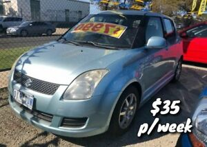 2008 Suzuki Swift RS415 RE3 Blue 5 Speed Manual Hatchback Cranbourne Casey Area Preview