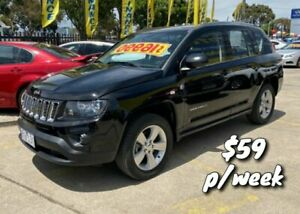 2014 Jeep Compass MK MY14 Sport Black 5 Speed Manual Wagon Dandenong Greater Dandenong Preview