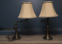 ***SOLD*** Matching pair of lamps   $20