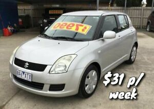 2010 Suzuki Swift RS415 Silver 5 Speed Manual Hatchback Cranbourne Casey Area Preview