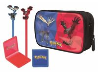 Pokemon 3Ds carry case and accessories
