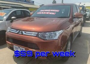 2013 Mitsubishi Outlander ZJ MY13 ES 4WD Bronze 6 Speed Constant Variable Wagon Dandenong Greater Dandenong Preview