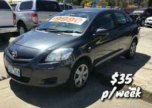 2006 Toyota Yaris NCP93R YRS Grey 4 Speed Automatic Sedan Cranbourne Casey Area Preview