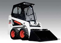 Mini Skid Steer and Operator for HIRE!