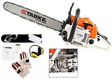 """NEW STARKE PRO 52CC CHAINSAW 20"""" BAR PETROL South Yunderup Mandurah Area Preview"""