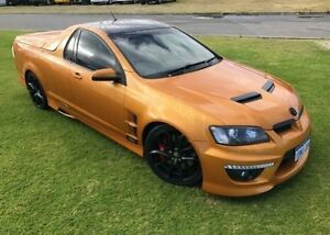 2010 Holden Special Vehicles Maloo E2 Series R8 Gold 6 Speed Manual Utility Maddington Gosnells Area Preview