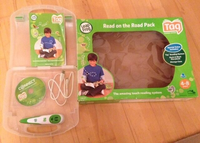 LeapFrog Tag Reading System10 Activity Story Books (see both photosin East Kilbride, GlasgowGumtree - LeapFrog Tag Reading System & 10 Activity Story Books (see both photos). The Tag Reading System allows children to learn reading at their own pace, building confidence. Learning skills include reading comprehension, vocabulary, word building and...