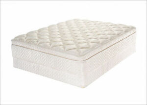 Deal Of The Week Queen Size Euro Top Mattress & Box Spring