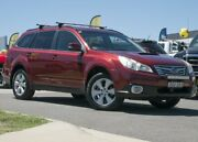 2011 Subaru Outback B5A MY11 2.0D AWD Premium Maroon 6 Speed Manual Wagon Pearce Woden Valley Preview