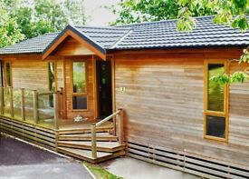 Beautiful 3 bedroomed, fully furnished cedarwood lodge in Osmington Mills, Weymouth, Dorset