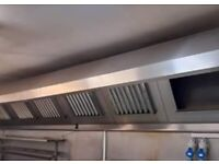 Commercial kitchen hood extractor fan canopy's and fittings canopy fitting