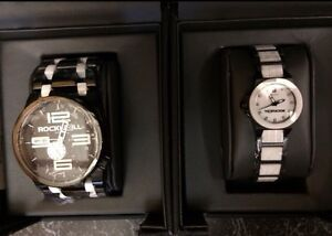 His and Hers Rockwell watches