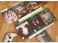 Xbox One S 500GB With Controller And Games