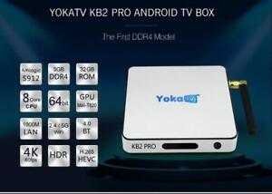 ANDROID TV BOXES 4K KODI 17.6 MOVIES, TV SHOWS, LIVE TV, LIVE SPORTS