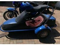 Squire ST2 sidecar with fittings
