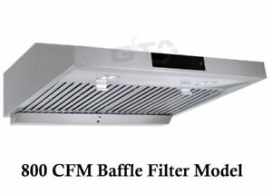 800 cfm Under Cabinet Kichen Range Hood Exhaust fan on SALE