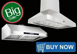 600 cfm to 1000 cfm Range Hoods Kitchen Exhaust Fan from $159