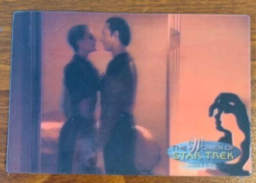 2000 Rittenhouse Women of Star Trek in Motion #21 Lieutenant Yar Free Shipping