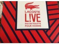 Lacoste live set pour homme