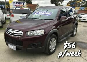 2012 Holden Captiva CG Series II 7 SX Maroon 6 Speed Sports Automatic Wagon Cranbourne Casey Area Preview