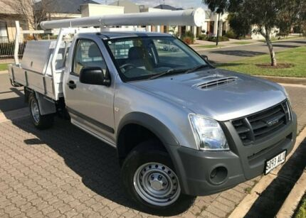 2011 Isuzu D-MAX MY11 EX Silver 5 Speed Manual Cab Chassis