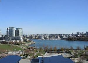 $3500 / 2 BR+DEN 981ft2 PARK/WATER VIEW FURNISHED IN YALETOWN