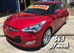 2012 Hyundai Veloster FS2 Coupe D-CT Red 6 Speed Sports Automatic Dual Clutch Hatchback Cranbourne Casey Area Preview
