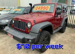2011 Jeep Wrangler JK MY2011 Sport Red 6 Speed Manual Softtop