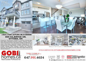 House in OTTAWA, ON BR: 2 WR: 2 (Greenbank Rd/Cambrian Rd)