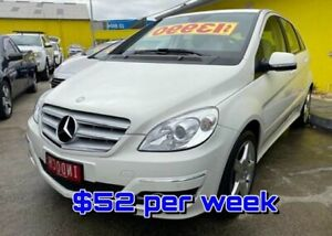 2011 Mercedes-Benz B-Class W245 MY11 B200 5 DOOR White 7 Speed Constant Variable Hatchback Dandenong Greater Dandenong Preview