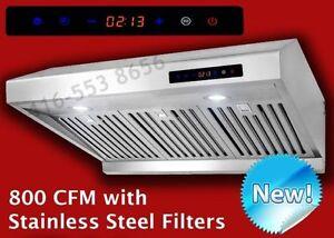Baffle Filter Undercabinet Range Hood Kitchen Exhust Fan Sale